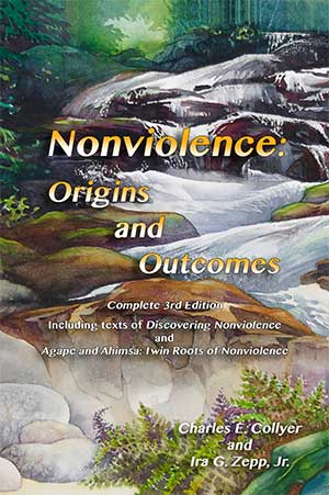 Nonviolence origins and outcomes book cover