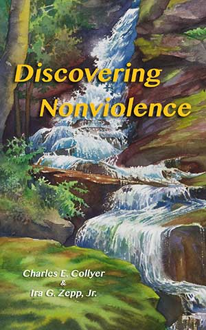 Discovering-Nonviolence book cover